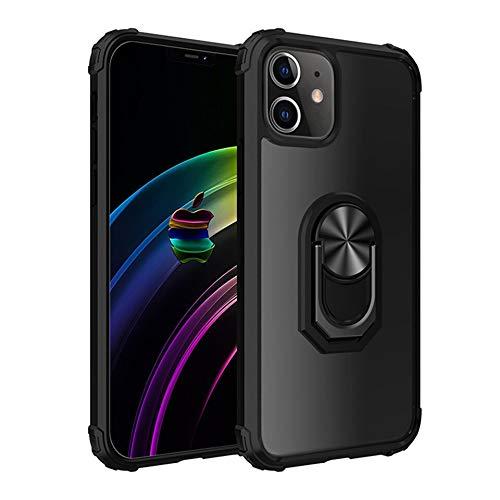 RZL Teléfono móvil Fundas para iPhone Pro MAX 12 12 Mini, Pata de Cabra Shell a Prueba de Golpes magnética del Anillo del teléfono del iPhone para el 11 Pro MAX