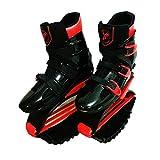 Rebound-Schuhe Kangoo Jumps Frauen Männer Anti-Gravity Laufschuhe Bounce Schuh Springen,Red,XXL