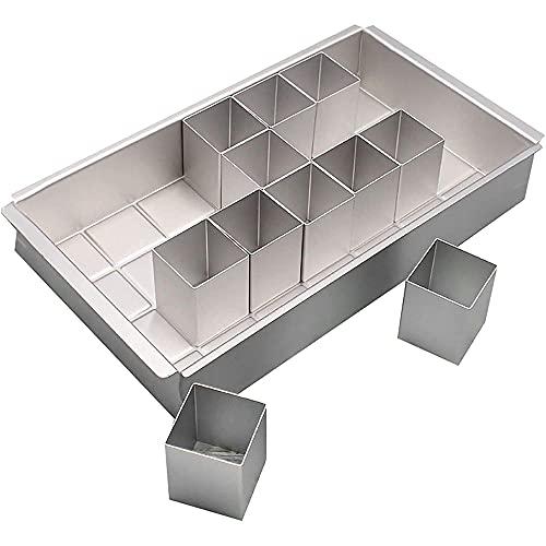 Anyingkai Moldes Números para Tartas, Molde de Aluminio para Hornear,Molde de Aluminio para Pastel,Molde Numeros,Molde para...