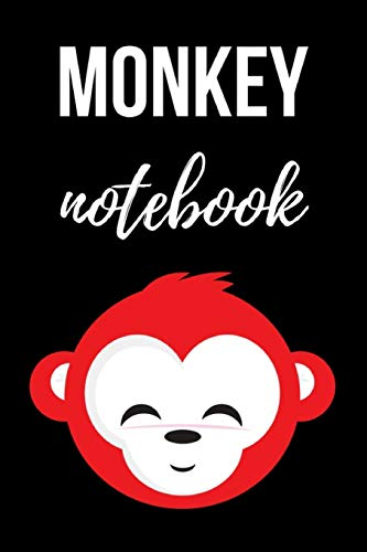 Monkey Notebook: Cute Journal / Notepad / Diary, Gifts For Monkey Lovers (Lined, 6