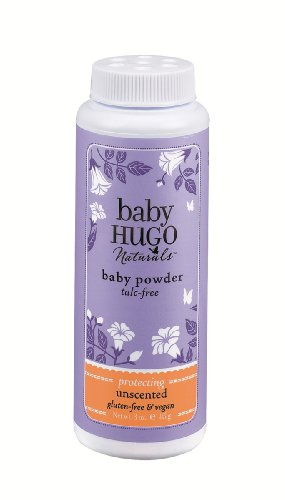 Baby Powder, sin perfume, a 3 oz (85 g) - Hugo Naturals