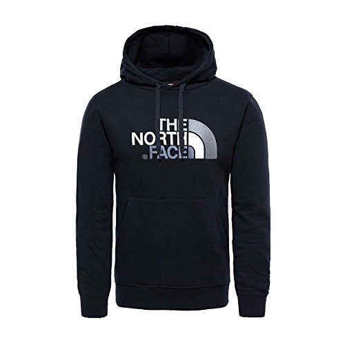 The North Face M Drew Peak Plv HD, Felpa con Cappuccio Uomo, 100% cotone, Nero (TNF Black), L