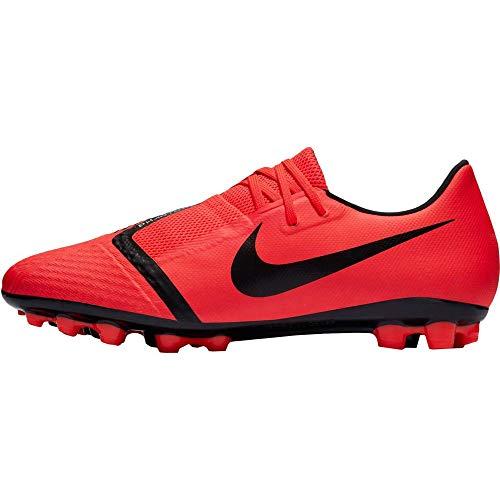Nike , Herren Fußballschuhe, Schwarz - rot - Größe: 43 EU