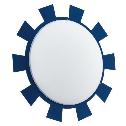 Eglo Lampe 92129 intérieur, métal, E27, Bleu