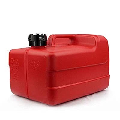 Five Oceans 3 Gallon Portable Fuel Tank Low-Permeation with Gauge FO-4129 by Five Oceans
