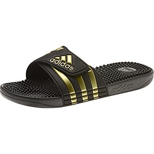 adidas Adissage, Unisex-Erwachsene Dusch- & Badeschuhe, Schwarz (Negro 000), 40.5 EU (7 UK)