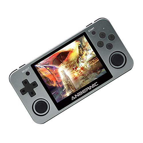 RG350m Handheld Game Console with 3.5 Inch IPS Screen Preload 10000 Games
