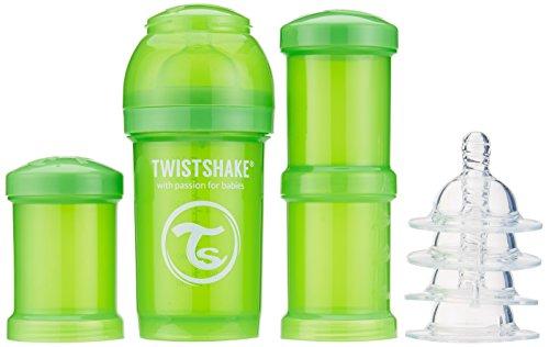 Vital Innovations 78100 Twist Shake Gourde Kit 180 ml, Vert
