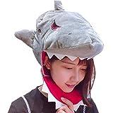 yqtyqs Shark Hat Head Cover Mask Animal Caps Halloween Party