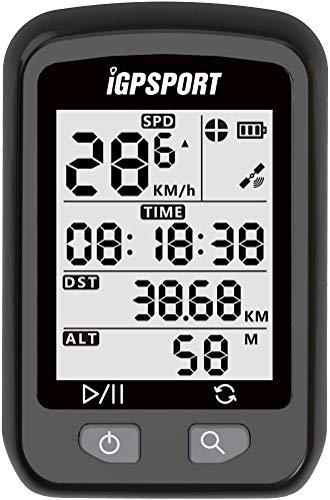 IGPSPORT Compteur de Vélo sans Fil iGS20E Ordinateur de Vélo GPS