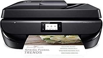 HP OfficeJet 5255 Wireless All-in-One Printer HP Instant Ink Works with Alexa  M2U75A  Black