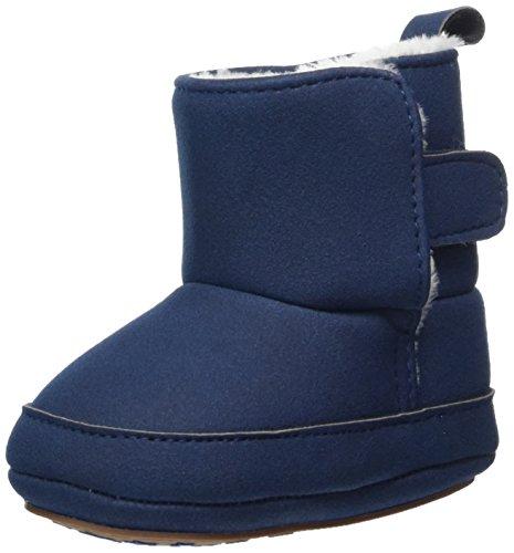 Sterntaler Jungen Baby Stiefel mit Klettverschluss, Farbe: Marine, Größe: 17/18, Alter: 6-9 Monate, Artikel-Nr.: 5301711