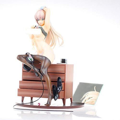 BAONIOU Anime Statue 27cm Sammlung des gebürtigen Schöpfers Gamermädchen Spiel Hentai sexuelle Karikatur spielt PVC-Tätigkeits-Abbildung Anime