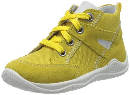 Superfit Baby-Jungen Universe Sneaker, Gelb (Gelb/Weiss 60), 25 EU