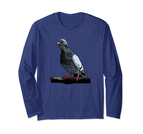 Taube Füttern Brieftauben Vogel Taubenzüchter Langarmshirt