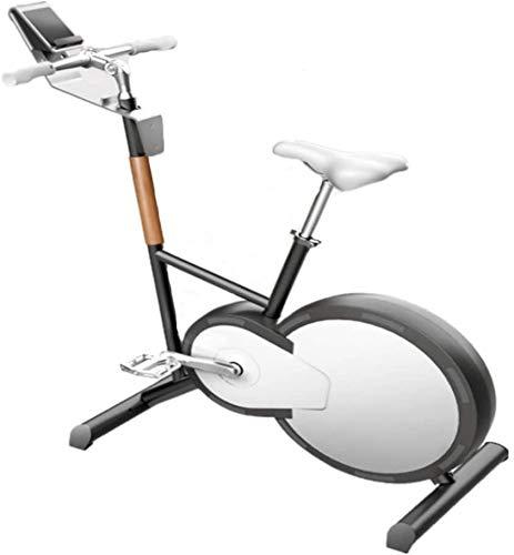 LY88 Fitness Cyclette Fitness Intelligente a casa Controllo elettromagnetico Esercizio Muto Perdita di Peso Cyclette Indoor Cyclette Frequenza cardiaca Design Stabile e Confortevole