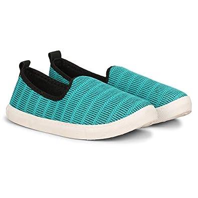 NAMCHEE Women's Girl's Fashion Desginer Super Comfort Soft Fabric Slip On Walking Running Casual Bellies Shoes for Women