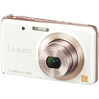 パナソニック デジタルカメラ ルミックス FX80 光学5倍 キャンドルホワイト DMC-FX80-W
