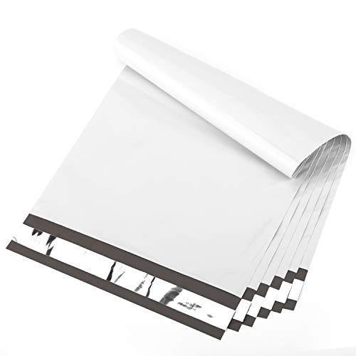cozymood Poly Mailers 9x12 White Shipping Bags 100 Pcs, Packaging for Small Business, Waterproof Packaging Bags, Self-Seal Shipping Envelopes, Shipping Bags for Clothing, Boutique, Shipping Supplies