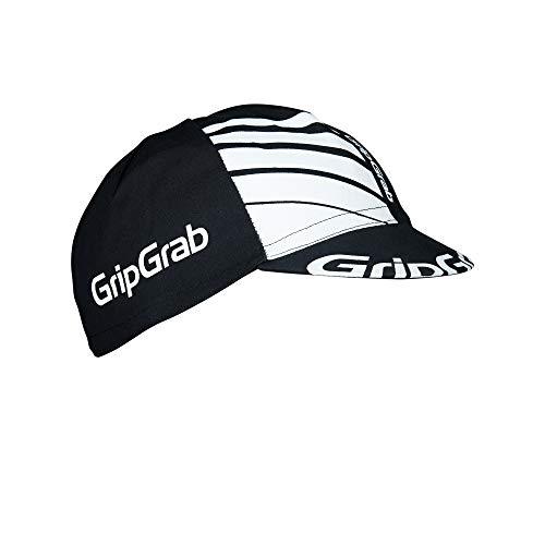 GripGrab Classic Retro Cycling - Berretto da Ciclismo, da Corsa, Vari Colori, da Uomo e da Donna, Unisex, 5010, Nero, Taglia Unica