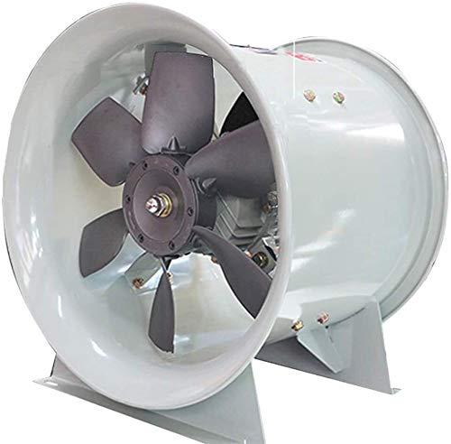 NACHUN Laboratorio Blower Blade, vortice Fans Grande Volume d'Aria Ventilatore di Flusso assiale, Impermeabile a Prova di umidità Oil Proof 9.18 (Size : 370W)