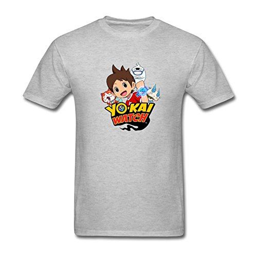 fengting Hombres de yo-Kai reloj Video Game Logo Manga Corta Camiseta