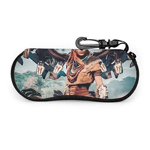 Horizon Zero Dawn - Funda para gafas de sol con cremallera de viaje portátil