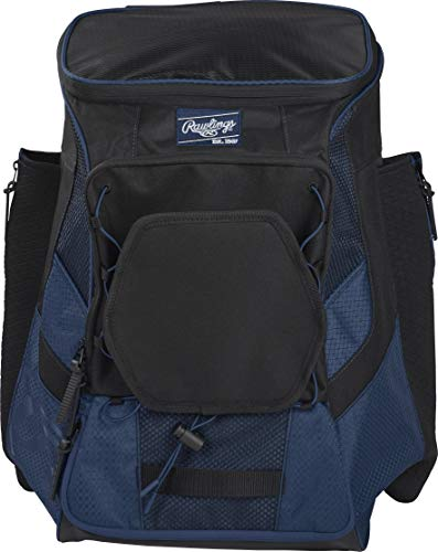 Rawlings Players Backpack R600, Navy, One Size