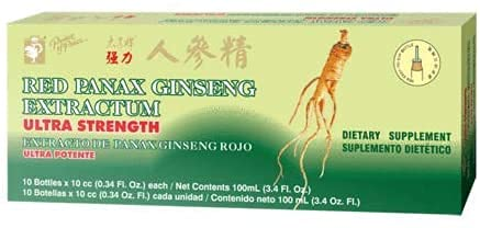 Prince of Peace Red Panax Ginseng Extractum Ultra Strength, 0.34 fl....