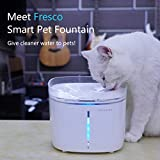 PETONEER Smart Dog Cat Water Fountain - App Remote Control - Highest Water Purity - Multi Filtration - Activated Carbon Filter Ion Exchange - Quiet Water Pump - Automatic Dispenser Pet Drinking Bowl