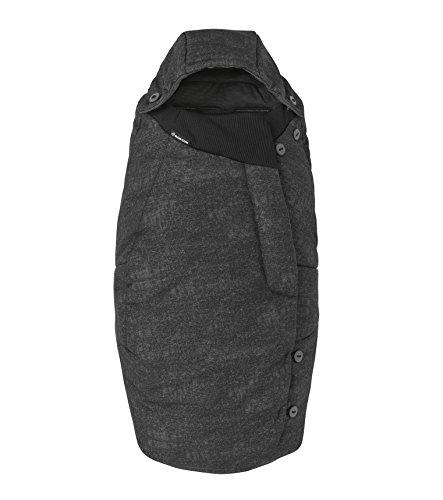 Maxi-Cosi 1792710110 Universal-Fußsack passend für alle Kinderwagen und Buggys, schwarz