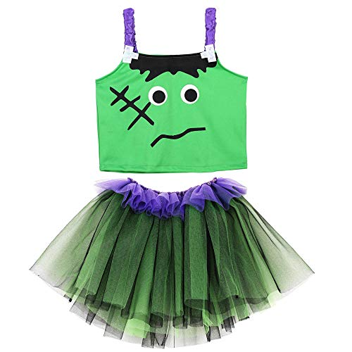 WIDMANN Disfraz de monstruo, color verde/morado. (96536)