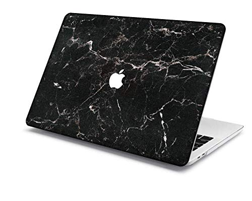 Old MacBook Air 13 Case Model:A1466/A1369,QiuHuiCase Plastic Shell Cover Only Compatible Release 2010-2017 Old MacBook Air 13 inch (No Touch ID) (Marble 127)