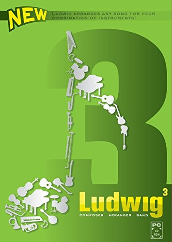 Ludwig - Composer, Arranger, Band, 3.0, 1 CD-ROM Ludwig arranges any song for your combination of instruments!