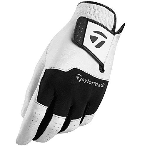 TaylorMade Golf 2018 Stratus Leder Herren Atmungs Golfhandschuh Pack Von 1 Linke Hand Medium