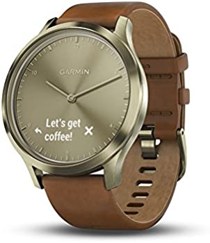 Garmin Vivomove HR Hybrid Smartwatch for Men and Women w/Band
