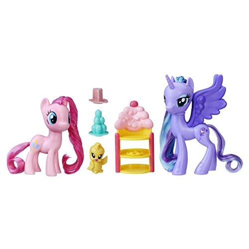 Hasbro My Little Pony C2492ES0 - Königliche Freunde Pinkie Pie und Luna, Spielset