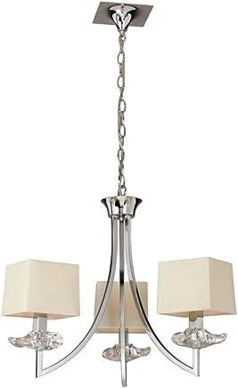 Amazon.es: lamparas de techo leroy merlin - Mantra: Iluminación