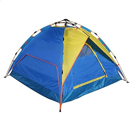 Hydraulic Automatic Speed Open Tent 3-4 People Waterproof Camping Portable Tent,Blue Automatic Camping Tent eternal