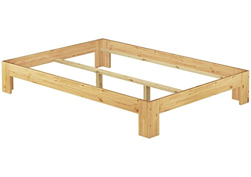 Erst-Holz® 60.67-14 oR Französisches Bett 140x200 Kiefer massiv (ohne Zubehör)