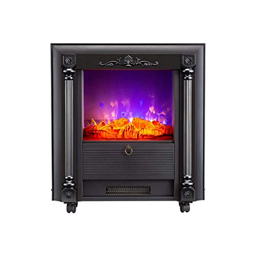 Chimenea eléctrica: Calentador, 1000/2000 W, simulación de Llama, Ventilador y termostato Integrados,...
