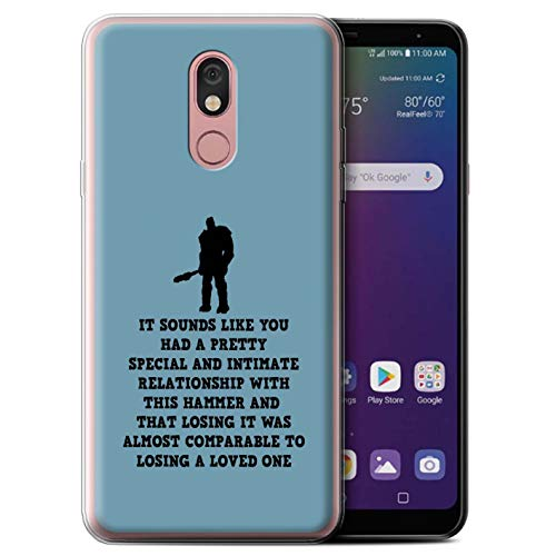 eSwish Phone Case/Cover/Skin/LG-GC/Funny Korg Quotes Collectie LG Stylo 5 Speciale relatie