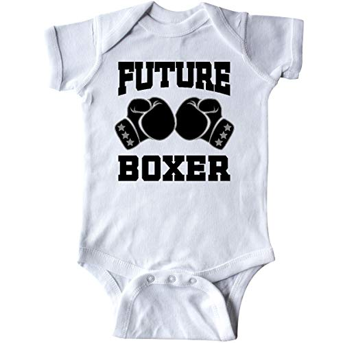 inktastic Boxing Future Boxer Infant Creeper 6 Months White