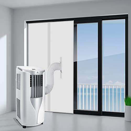 KESSER Türabdichtung für Mobile Klimagerät, Klimaanlage, Wäschetrockner, Ablufttrockner, Hot Air Stop zum Alternative zur Fensterabdichtung, Tür 90x210cm