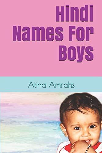 Hindi Names For Boys