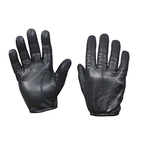 Rothco Leather Cut Resistant Police Gloves, Large