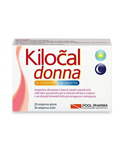 Kilocal Donna 20CPR giorno + 20CPR notte.