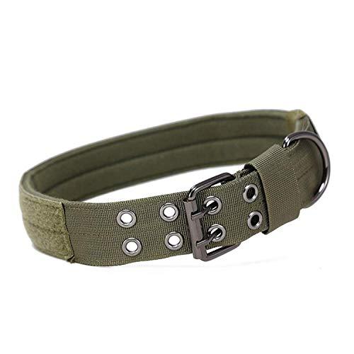 AYCPG Collar de Perro Collor de Mascotas de Entrenamiento Ajustable Duradero de Servicio Pesado, para pequeños Perros Grandes Cordones Ligeros de Entrenamiento al Aire Libre Collares lucar