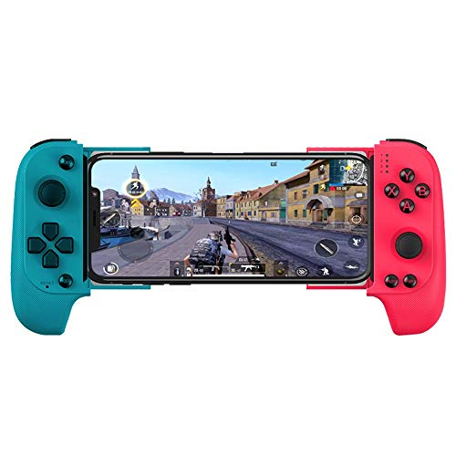 Lihgfw Telescopische Controller Gamepad for Android-telefoons en iPhones, met Bluetooth Flexibele Joystick (zwart) Mobile Game Controller for 4,7-6,5