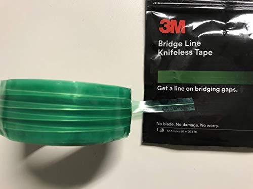 3M Knifeless Tape Bridge Line 12,7mm - 50m (164ft) - Gleichmäßige Schnitte für Karosserie-Fugen